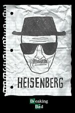 Breaking Bad Poster - HEISENBERG Drawing - TV series poster
