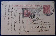 C.P. - DA LECCE 1916 CON 2BOLLI CENSURA WW1