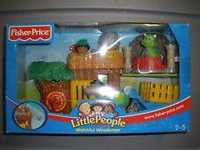 NEW 2003 Fisher Price Little People Watchful Woodsman Robinhood Dragon Castle