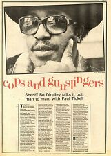 27/2/82PGN19 INTERVIEW/ARTICLE & PICTURES : SHERIFF BO DIDLEY