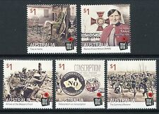 2016 Centenary of World War I - MUH Set of 5 Stamps