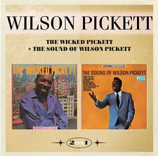 Wilson Pickett - The Wicked Pickett/The Sound of Wilson Pickett (2016)  CD  NEW