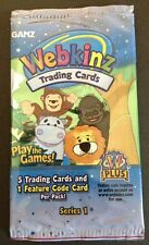 1 Pack of Webkinz Trading Card Series 1