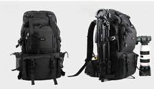 Professional Waterproof 40L Outdoor Bag Backpack DSLR Camera Bag Case Black