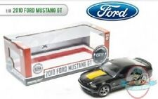 1:18 2010 Mustang GT Black with hood stripe package limited to 504 Pc Greenlight