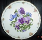 Royal Albert Limited Edition Collectors Plate PANSIES