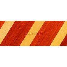 "Laminated Padauk and Yellowheart Pen Blank 3/4"" x 5"" LAM7"