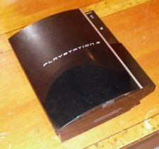 Sony PlayStation PS3 40 GB Piano Black Console NTSC (CECHG01) *Untested - AS IS*