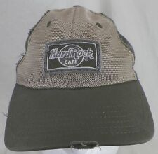 ORLANDO FL HARD ROCK CAFE HAT EMBROIDERED ADJUSTABLE RARE DISTRESSED CAP