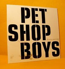 Cardsleeve single CD Pet Shop Boys Home And Dry 1 TR 2002 Synth-pop PROMO !