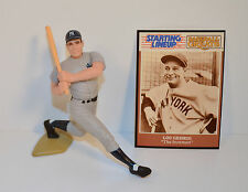 1989 Lou Gehrig New York Yankees #4 Jersey Starting Lineup Baseball SLU