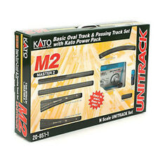 Kato 20-851-1 N Scale M2 Basic Oval and Siding w/ Kato Power Pack