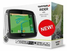 TomTom RIDER 410 Motorcycle GPS SATNAV Lifetime World Map Speed Camera Updates