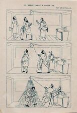1908  --  HUMOUR  CARAN D ACHE   APPARTEMENT A LOUER   3K739