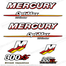 Mercury 300xs 3.2L Stroker Outboard Engine Decal Kit 2007 2008 2009 300hp Decals