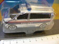 Siku VW T5 Polizei Österreich A Mannschaftswagen 1350