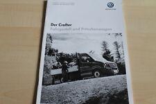 129822) VW Crafter Fahrgestell Pritsche - Preise & Extras - Prospekt 01/2013