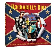 Rockabilly Riot 2-CD NEW SEALED Carl Perkins/Glen Glenn/Pat Cupp/Johnny Burnette