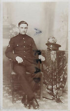 WW1 Pte & Bandsman regular battalion Royal Sussex Regiment in Patrol Jacket