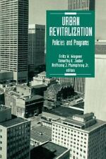 Urban Revitalization: Policies and Programs-ExLibrary