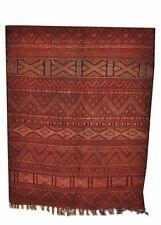 "Moroccan Antique Tribal Wool Kilim Kilem Area Rug Carpet 118""x 68"" Zamour"