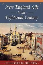 New England Life in the 18th Century (Sibley's Harvard Graduates)-ExLibrary