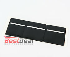New Black Windscreen Tax, Insurance, NCT Disc Holder for Cars Vans Taxi 3 pocket