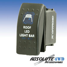*Roof LED Light Bar* Rocker Switch Blue - ARB Carling Landcruiser Patrol 4x4