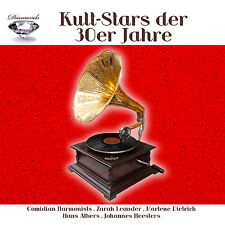 CD Iconic Stars der 30s Years from Various Performers 5CDs with Comedian