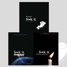 John C. Parkin Collection F**k It Series 3 Books Set, The Way of Fuck It, New
