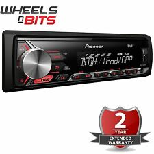 Pioneer MVH-290DAB Mechless Radio De Coche DAB USB iPod iPhone AUXILIAR Digital