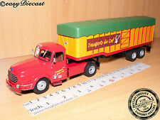 WILLEME LC-610 T 1:43 TRANSPORTS DU CERF FRANCE TRUCK&TRAILER CAMION 1952 ALTAYA
