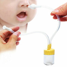2016 Baby Safe Nose Cleaner Vacuum Suction Nasal Mucus Runny Aspirator Inhale SH