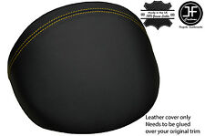 YELLOW STITCH LEATHER DASH COWL HOOD COVER FITS MG MGF MG TF 1995-2005 STYLE 2