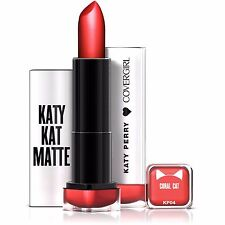CoverGirl Katy Perry Kat Matte Lipstick (Coral Cat) Limited Edition