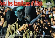 Coupure de Presse Clipping 1996 (8 pages) Les Kamikazes d'Allah