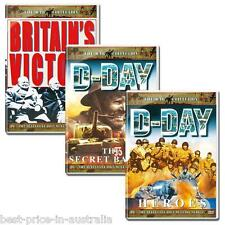 War Collection D-DAY: HEROES+THE SECRET BATTLE+BRITAIN'S VICTORY IN EUROPE 3xDVD