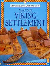 Make This Viking Settlement (Usborne Cut-out Models), Good Condition Book, Ashma