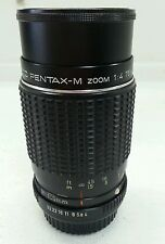 SMC Pentax-M 75~150mm F/4 Telephoto Zoom Lens - PK Mount K1000 ME Super