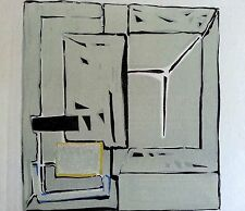 Maeght  paris 11x15 Geer Van Velde abstract original 1952 6x6 dlm lithograph