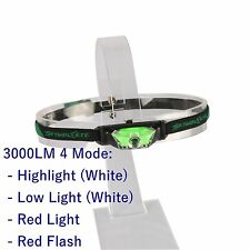 3000lm CREE XPE LED Camping Headlamp Headlight Head Torch Fishing Lamp 3-Modes