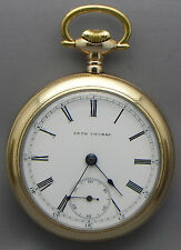 "16 Size; 17 Jewel; G.E. Simanton's ""Precision Watch"" Pocket Watch, Made in 1889!"