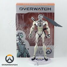 New ! Games Overwatch Ninja Cyborg Genji 24cm/9.6'' PVC Figure In Box