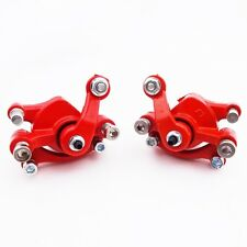 Left & Right Disc Brake Calipers For Chinese Pocket Mini Dirt Bike ATV Go Kart