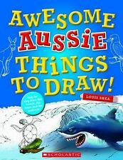 Awesome Aussie Things to Draw! ' Louis Shea brand new free sameday post in Aust