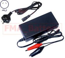 Intelligent Charger 14.4V 3A for SLA 12V Lead-Acid Battery w/Crocodile Clips AUT