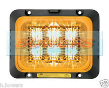 DELTA DESIGN ECCO SECURILED 12V/24V LED AMBER STROBE/HAZARD/WARNING LAMP/LIGHT