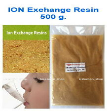 500g. Water Softener(Cation) Ion-Exchange Resin Ionic Form Na+ Thai New Drink