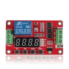 12V DC Multifunction Self-lock Relay PLC Cycle Timer Module Delay Time Switch