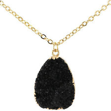 Women Pendant Chain Crystal Choker Chunky Statement Bib Necklace Fashion Jewelry